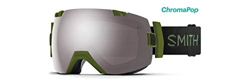 2019 Smith I/OX Moss Surplus Goggle w/CP Sun Platinum Mirror + CP Storm Rose Flash Lens