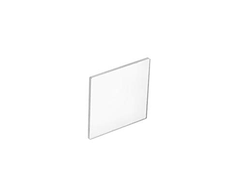 Fused Quartz Microscope Slides, 75 x 25 mm