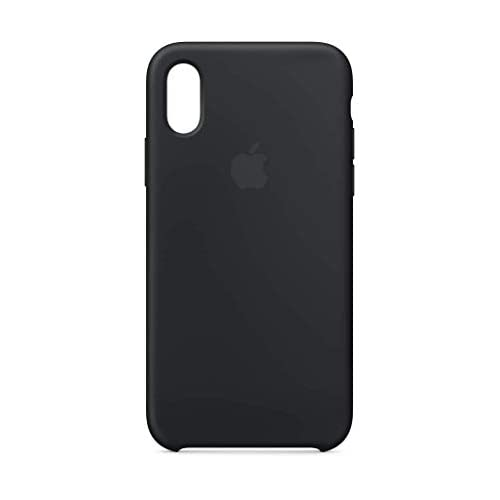 Apple Custodia in silicone (per iPhone XS) - Nero