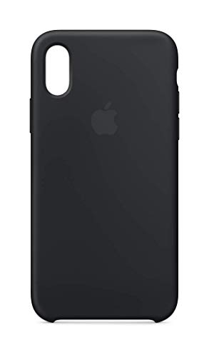 Apple Silikon Hülle (Iphone Xs) - Schwarz