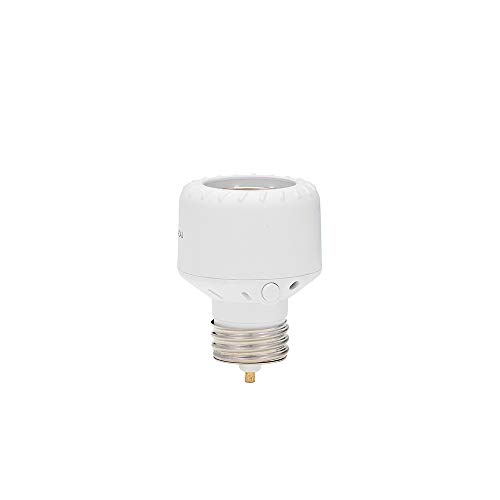 Westek SLC6CBC-4 Indoor/Outdoor Programmable Light Control with Dawn to Dusk Setting, White
