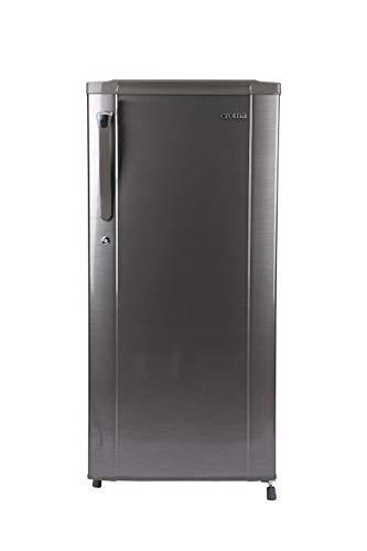 CROMA 2 Star 2020 Direct Cool Single Door Refrigerator (CRAR0216, Brushline Silver, 190 L)