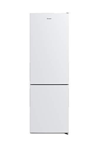 Candy CVBNM 6182WP/SN | Frigorífico combi, Total No Frost, 310 litros, Iluminación LED, Puertas reversibles, 41dba, Altura 1.88m, Blanco, Clase F