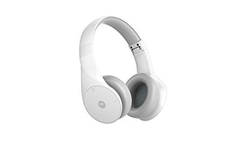 Motorola Pulse Escape Over Ear Bluetooth Kopfhörer mit HD-Sound, Siri und Google Now Kompatibel Weiß