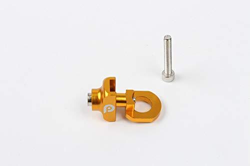 Ronshin Fahrrad f黵 LP 35,6 cm Klapprad Single Speed Fahrrad Kette Rei遶erschluss Fahrrad Kette Stabilisator, Gold