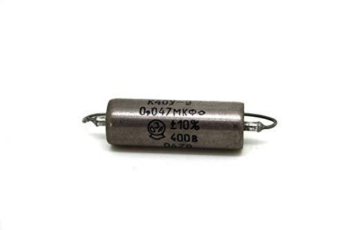 K40Y-9 Condensador Capacitor 0.047uF 400V papel en aceite PIO para bajo y...