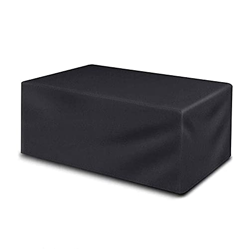 Patio Furniture Dustproof Cover 315&Times;160&Times;74Cm 210D Oxford Table Chair Sofa Cover Waterproof Garden Patio Protective Cover Rectangular Sofa Bench Cover