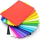 Made of fluorescent paper material. Soft texture,can be cut and folded. Suitable for cutter plotters or silhouette machines, can also be cut with scissors or a craft knife for freehand designs. A great for high impact graphics and embellishments. Com...