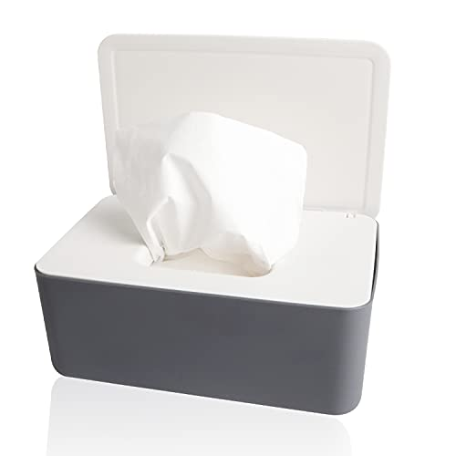 Feuchttücher Box, Baby Feuchttuchbox, Kindertuchbox, Toilettenpapierbox, Taschentuchaufbewahrungsbox, Taschentuchhalter, Autokunststoff-Feuchttuchspender, Serviettenbox