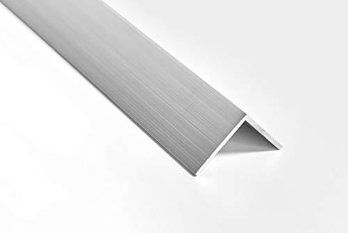 Nielsen Aluminium Winkelprofil Natur (Pressblank) 2000x20x20 mm, Stärke 1,5 mm, Länge: 200 cm