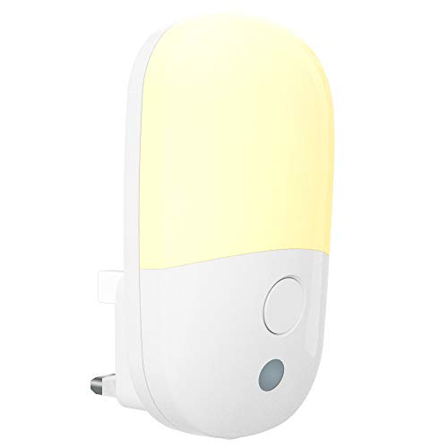 LED Night Light Plug in Walls with Dusk to Dawn Photocell Sensor &...