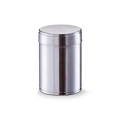 Zeller 27333 Vorratsdose, 900 ml, Edelstahl, ca. Ø11x14,5 cm