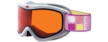 Bollé Volt Skibrille/Snowboardbrille | UV-Schutz | Wintersport | Skifahren | Snowboarden | Schneebrille | Schutzbrille | Goggles, Design:Volt White, Gläser:Citrus Dark (Cat.3)
