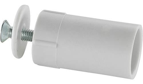 Schellenberg 52003 - Tope de persiana, color blanco