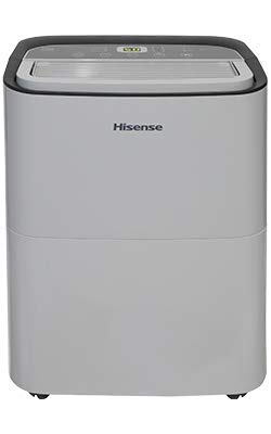 Hisense DH5019K1G 50 Pint 2-Speed Dehumidifier Energy Star (1,000 Sq. Ft. Coverage)