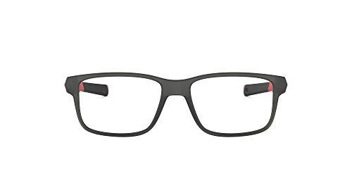 Oakley 0OY8007 Monturas de gafas, Satin Grey Smoke, 50 para Hombre