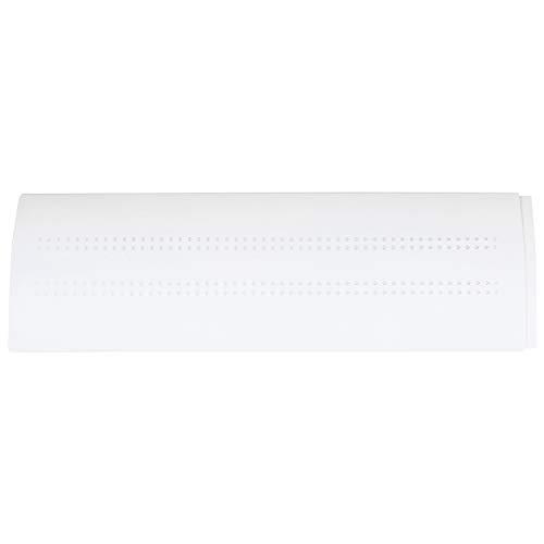Gesh Home - Cubierta de aire acondicionado ajustable para parabrisas, protector de aire acondicionado, guía de viento, protector antiviento