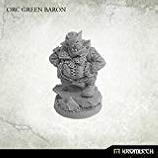 Sci-Fi Miniatures - Orcs 28mm Kromlech Orc Green Baron