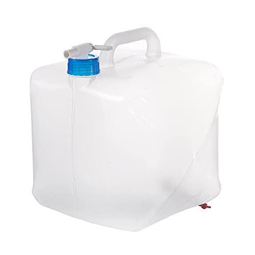 BidóN Agua,Contenedor de agua con grifo de 4 unidades, contenedor de agua plegable de 10l,contenedor de agua plegable portátil para acampar, portador de agua, tanque de agua, almacenamiento de jarra