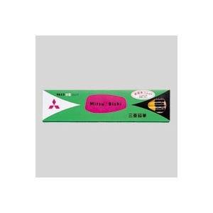 (業務用セット) 三菱鉛筆 六角消しゴム付鉛筆 K9852HB 12本入 【×3セット】