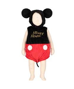 Disney bébé Mickey Mouse Tunique avec chapeau – 3–6 mois.