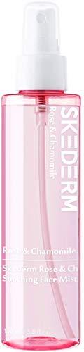 SKEDERM Rose and Chamomile Revitalizing Face Mist Spray for Instant Hydration, 150ml / 5.0fl.oz