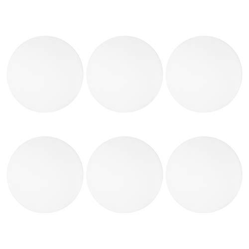 ABOOFAN 6 Stück Pong Bälle Premium Tischtennisbälle Advanced Pong Training Bälle für Schule Fitnessstudio (weiß)