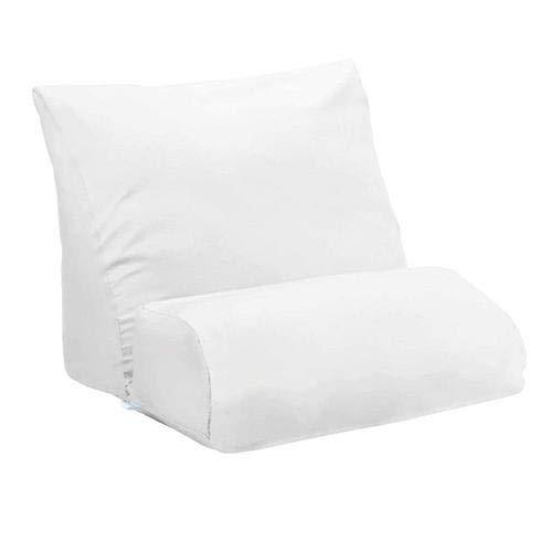 knowledgi Flip Pillow cojín Zeppa Multifuncional cojín con Plataforma de Espuma viscoelástica, cojín Inclinado, con Soporte, para Lectura, sofá, Cama, Oficina y Silla