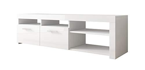 Mueble TV Clio (140x40cm) en Blanco