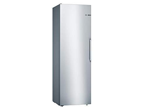 Bosch KSV36VLEP Serie 4 Freistehender Kühlschrank / E / 186 cm / 116 kWh/Jahr / Inox-look / 346 L / VitaFresh / EasyAccess Shelf