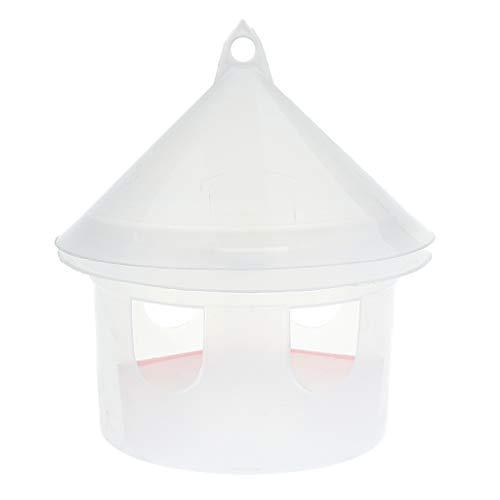 Homyl Distributeur de Nourriture Eau en Plastique pour Oiseaux de Cage Arbre Décoration Jardin