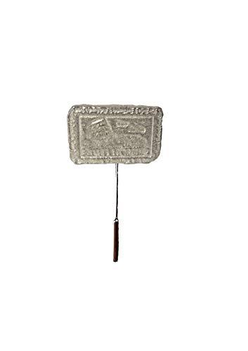 Postkaart Stempel Van Rome Colosseum FT32 3.1x2cm Engels Tinnen op een stropdas stok pin hoed sjaal kraag geplaatst door ons geschenken voor alle 2016 van DERBYSHIRE UK