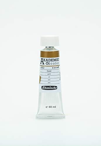 Schmincke Künstlerfarben Akademie Öl-Color Ölmalfarbe 60ml, Gold [Spielzeug]