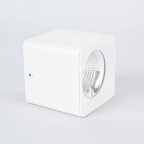 Moderno techo Spotlight Superficie Montado Downlight, LED ACCENT LIGHT LIGHT INTERIOR LUZ DE LA LUZ DE LA LUZ DE LA LUZ DE LA LUZ DE LA PUNTAMIENTO DE LA PISO PARA LA PANTALLA DE LA PODER CASA DE LA T