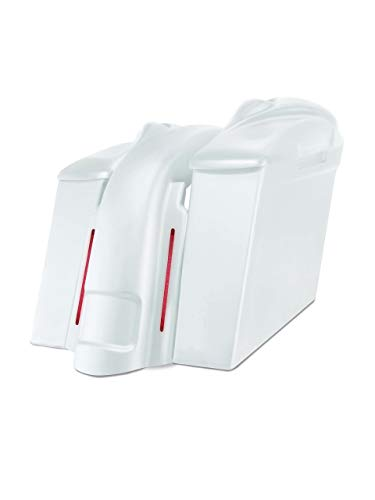 Why Should You Buy Harley Davidson 6 extended stretched saddlebags and Replacement LED fender for 9...