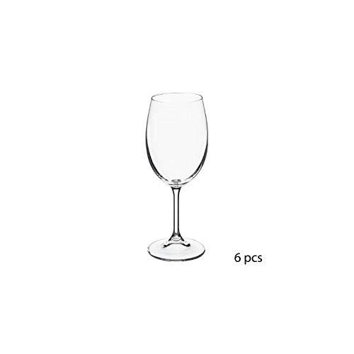 Lot de 6 verres à vin - 35 cl - Tana - Cristallin