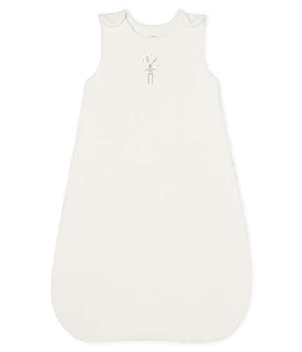 Petit Bateau Gigoteuse_5101901, Blanc (Marshmallow 01), 52 (Taille Fabricant: T0) Mixte bébé