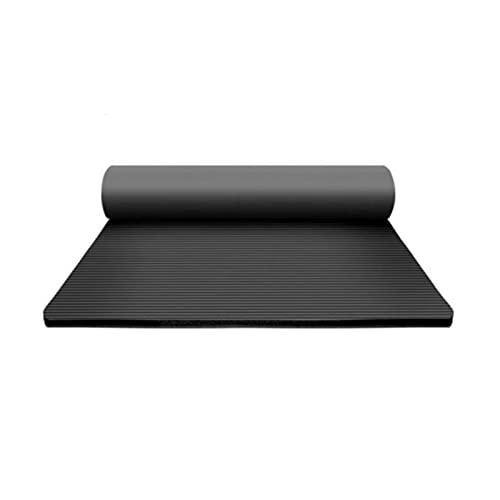 ZZRTEC Alfombra Fitness,TPE Esterilla Deporte Antideslizante Y Esterilla De Yoga, Adecuada para Yoga, Pilates, Gimnasia Y AeróBic (183 × 61 × 1,0 Cm)