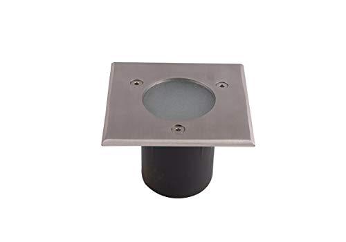 Lumihome Spot encastrable 28 LED Blanches 230 V carré pour abords de Piscine