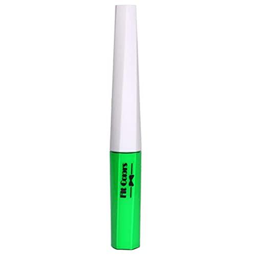 YOISMO Delineador de Ojos de neón - Delineador de Ojos líquido de neón de lápiz de Pintura UV de neón Resistente al Agua para la Cara y el Cuerpo,Brilla intensamente bajo la luz Ultravioleta (Verde)