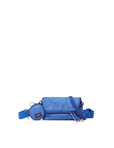 Desigual BOLS_MANDARALA VE Across Body Bag, blu, taglia unica
