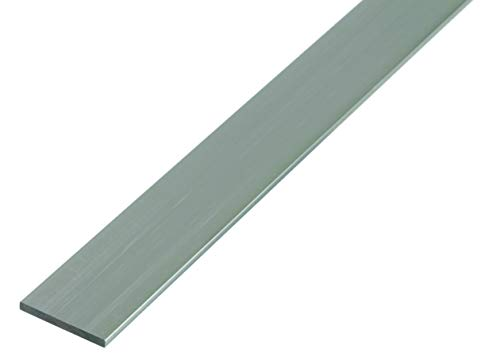 GAH-Alberts 469917 Flachstange | Aluminium, natur | 1000 x 40 x 3 mm