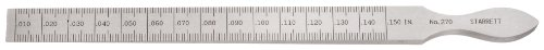 Starrett, Cuneo di misurazione graduato, campo di misurazione 0.3-4 mm, gradazione 0,05 mm - 270
