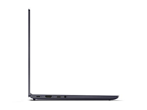 Lenovo Yoga Slim 7 Laptop 35,6 cm (14 Zoll, 1920x1080, Full HD, WideView, entspiegelt) Slim Notebook (Intel Core i7-1165G7, 16GB RAM, 512GB SSD, Intel Iris Xe-Grafik, Windows 10 Home) grau