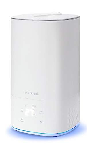 INNObeta 6,0L Ultraschall Luftbefeuchter mit Filter für Schlafzimmer, Hygrostat Funktion & LED, Top-Füllung, leicht zu reinigen, automatische Abschaltung, für Baby Kinder, Wohnzimmer/Büro - AquaTank