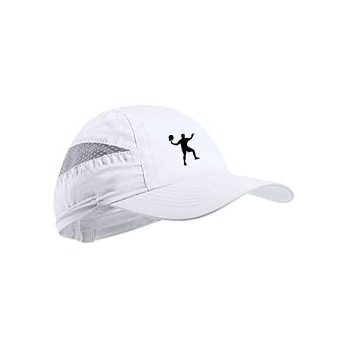 Gorra Padel Hombre Gorra Blanca Mujer Accesorios Padel diseño de Gorra para Padel + Pegatina Regalo incluida