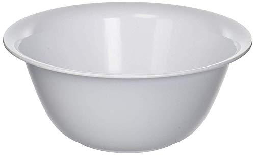 EXTRA LARGE (13-Inch) 6-Quart Plastic Salad/Mixing/Serving Bowl