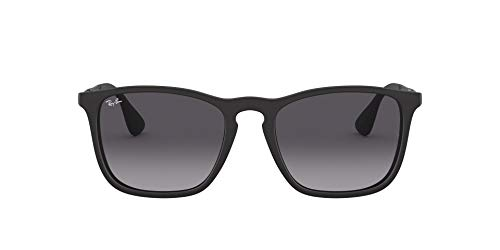 Ray-Ban - Gafas de sol hombre, Chris RB4187, Black (schwarz)