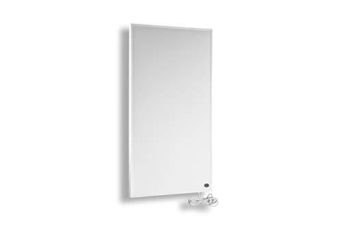 Infrarot Heizung 600 Watt mit TÜV✓UVP:229€✓Deutscher Hersteller✓10 Jahre Herstellergarantie ✓GS TÜV Süd✓ Elektroheizung für Steckdose -30 Tage Geld-zurück✓Infrarotheizung Überhitzungsschutz✓10-18m² - inkl. Thermostat