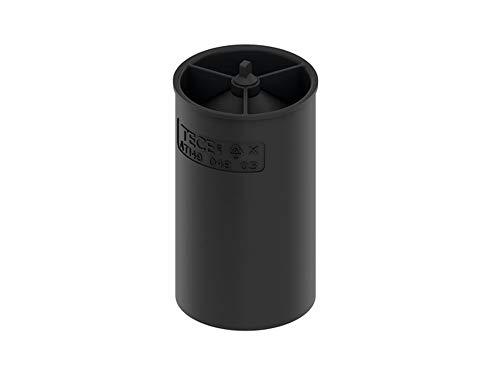 TECE 660017 drainline Membran-Geruchsverschluss (für Abläufe; Geruchs- und Ungeziefersperre; Höhe: 9,4), schwarz